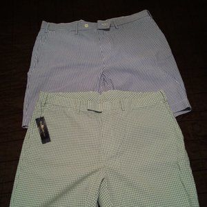 2 pairs Polo  Ralph Lauren  Seersucker shorts